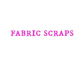 fabric scrap pack, designer fabric scraps, designer prints, cotton fabric scraps