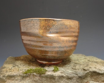 Chawan Tea Bowls for Matcha, Wheel Thrown Stoneware Functional Pottery, Traditional Japanese Glaze, For Everyday Use