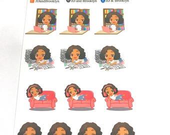 Sampler 1-Sticker Sheet (Aubrey, Renae, Lynn)