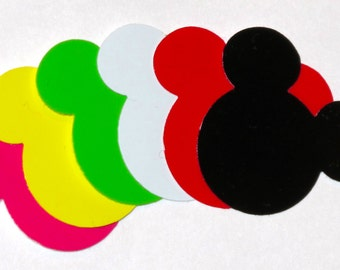 Mickey Mouse Stickers. Sheet of 24 stickers.