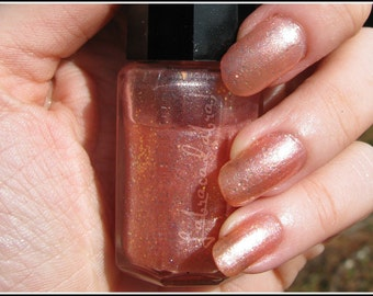 Lightheaded - Labracadabra Peach Glitter Nail Polish