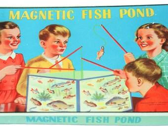 Vintage Magnetic Fish Pond