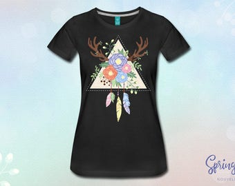 Cotton Spring Catcher (black) T-shirt