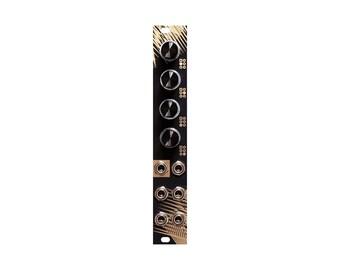 split / passive multiple with attenuators / eurorack module