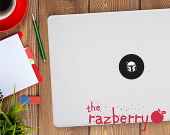 Boba Fett Macbook Decal Star Wars Macbook Decal Macbook Sticker Laptop Sticker Jango Macbook Sticker Macbook Sticker Decal Jedi Decal
