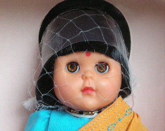 "Vogue Ginny Doll""Sari"" 1988, Number 71-3750, Div. of Dakin, Inc. International Collection"