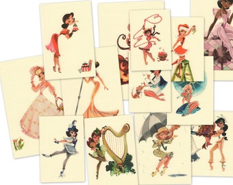 The Collection - Complete set of MissHollyLu Girls Line with Envelopes
