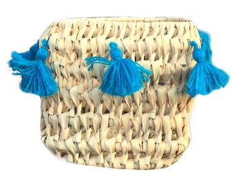 CATCH ALL basket - TURQUOISE