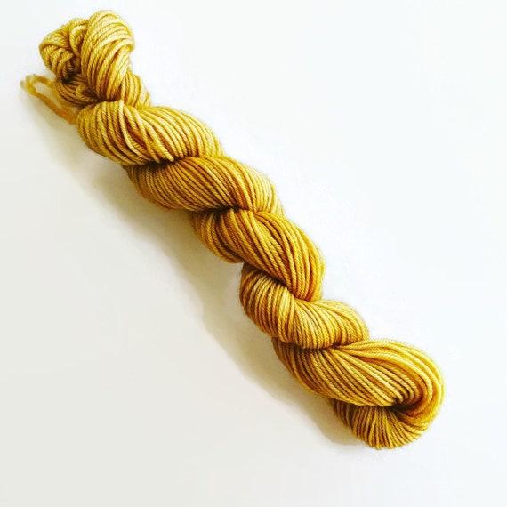 HONEYCOMB hand dyed yarn mini skein