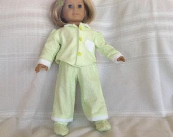 "Pajama set for 18"" doll"