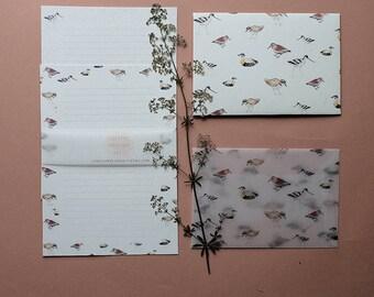 Letter Writing Set - Birds