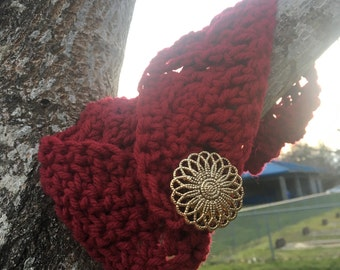 Crocheted Head Band (Cable Stitch)