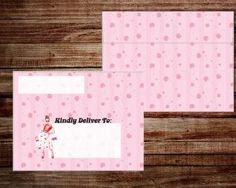 Cherry, Cherry  - Envelope Set - A2 Envelopes
