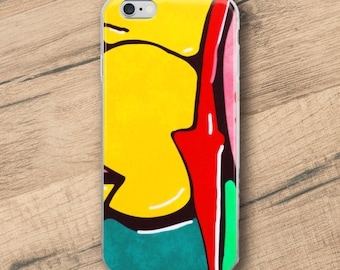 In the street No3, Graffiti, Phone Case For iPhone 8 iPhone 8 Plus, iPhone X, iPhone 7 Plus, iPhone 6, iPhone 6S