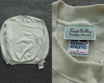 Size L | 90s Vintage NOS Deadstock Russel Athletic Sweatshirt Made in USA