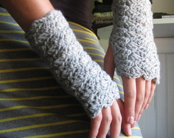Cross Hatch Mitts