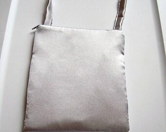 Silver Square Evening Bag