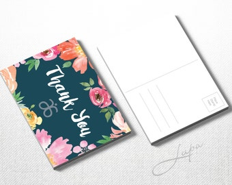 Thank You Arbonne A6 postcard (01) – Instant Download – DIGITAL FILE