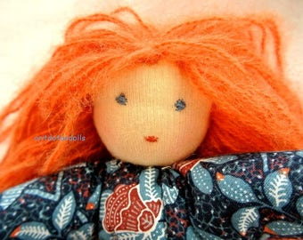 "Waldorf doll- 11inc\ 28cm-  בובה ע""פ חינוך וולדורף אנתרופוסופיה"