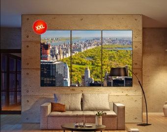 central park, New york  canvas skyline central park wall decoration central park canvas art central park  wall decor canvas
