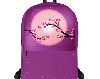 Beautiful Japanese Cherry Blossom High-Quality Backpack
