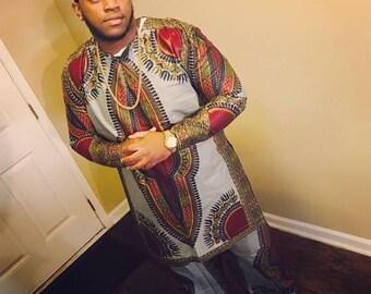 Dashiki pants or suit set
