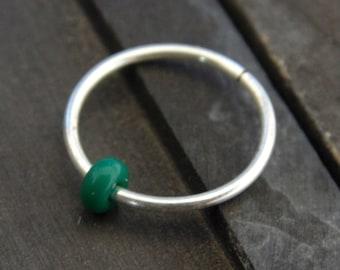Nose hoop ring // helix piercing jewelry // septum piercing jewelry