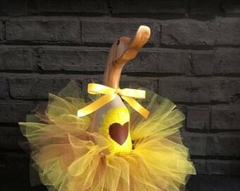 Small Heart Sunflower Duck