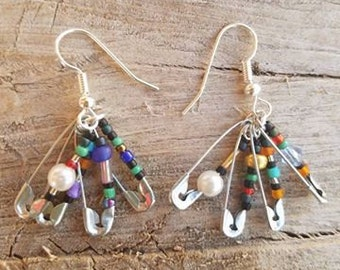 Patchwork Earrings