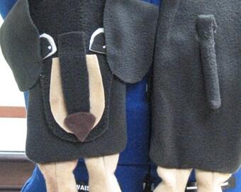 Fleece Sewing Pattern - Dachshund Dog Scarf - Scarf Pattern - Dog Sewing Pattern - Fleece Dog Scarf- Digital Download