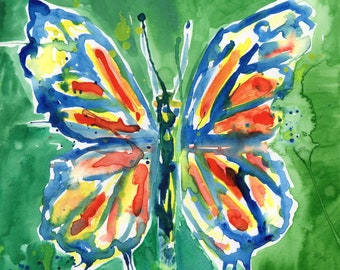 Painted Butterfly (ORIGINAL Painting)