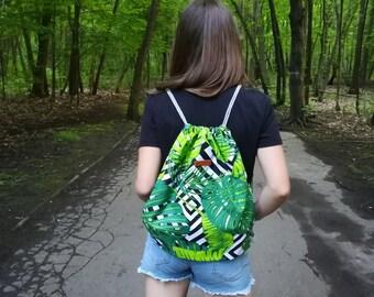 Bag / backpack 100% cotton