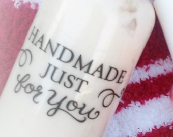 peppermint body lotion, body lotion, shea butter lotion, skin care, bath and beauty, lotion, peppermint 2 oz, free sock
