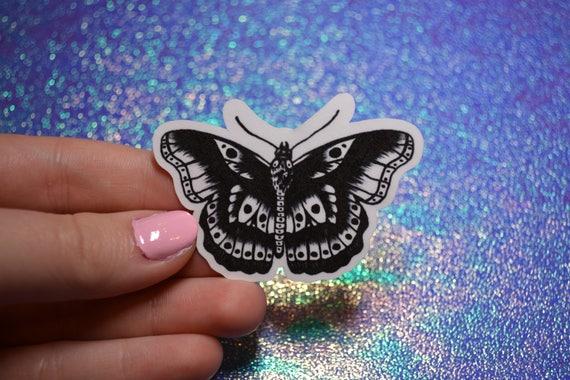 Harry Styles Butterfly Tattoo Sticker by Etsy