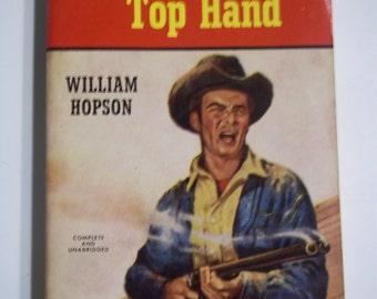 Rambling Top Hand by William Hopson Berkley 1959 Vintage Western Paperback Book