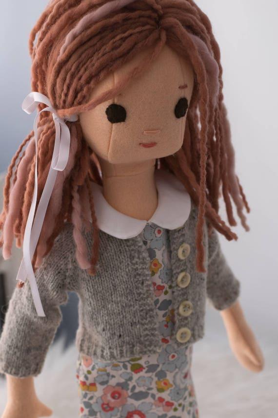 Rag Doll with Wardrobe