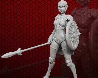 Valkyrie Mist resin figure