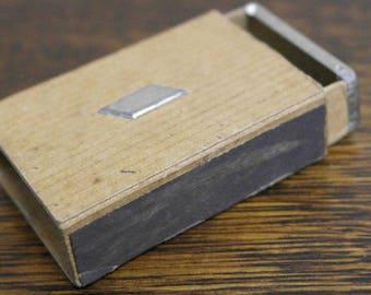 vintage match box