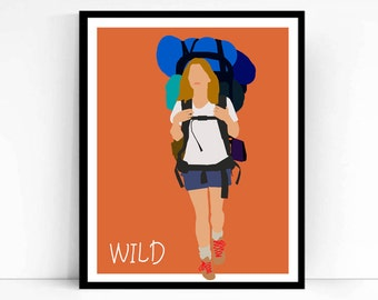 Wild Movie Poster, Minimalist print