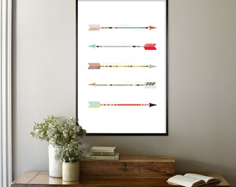 ARROWS POSTER - Psalm 127:4