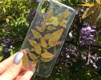 Pressed Leaves Case