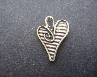 solid bronze heart, antique bronze heart, bronze heart, heart