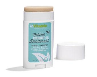 Coconut Oil Deodorant Stick