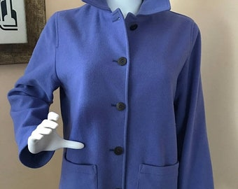 ETSY B-DAY Sale Lovely Vintage Purple Women's Jacket by The Works for Saks Fifth Avenue / Size Medium