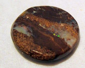 Undrilled - ref211 - boulder Opal