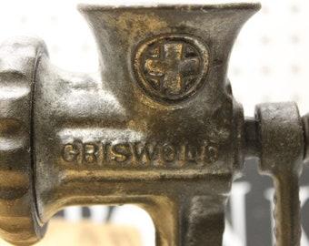 Griswold #2 Meat Grinder