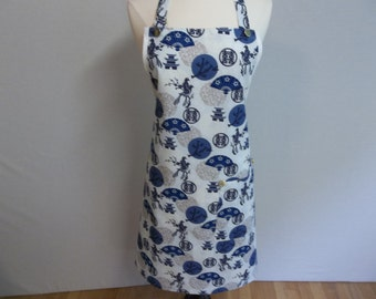Asian Print Full All Purpose Apron