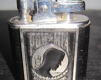 Vintage GIBSON Ligher Custom VIETNAM Pow-MIA Design Help Bring em Home