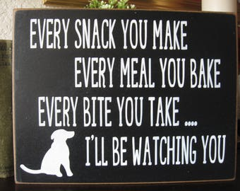 Dog Sign,Dog Lover Sign,Feed the dog sign,Dog wall decor,wood dog sign,country wall decor,veterinary office decor,sign for veterinary