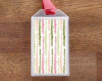 Flute - Instrument Case ID Luggage Tag for musicians